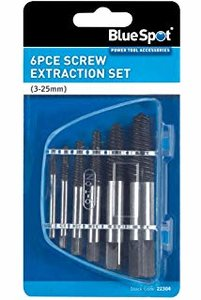 silverline screw extractor set 5pce