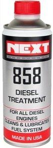 Next 858 DIESEL TREATMENT reinigt en smeert het complete dieselbrandstof-systeem