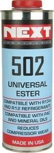 Next 502 Airco ester oil is een synthetische esterolie voor auto-airco systemen