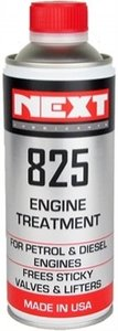Next 825 engine treatment