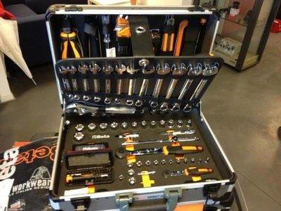 Beta easy gereedschappen in aluminium koffer 146-delig