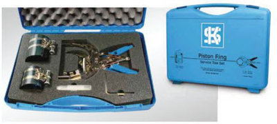Zuigerverentangenset voor zuigers van 57mm t/m 175 mm