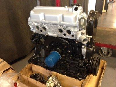 Ruilmotor Hyster heftruck   Mazda fe