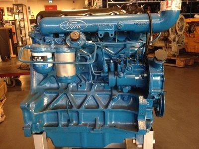 Ruilmotor Ford 6610 generatie 3  reviseren